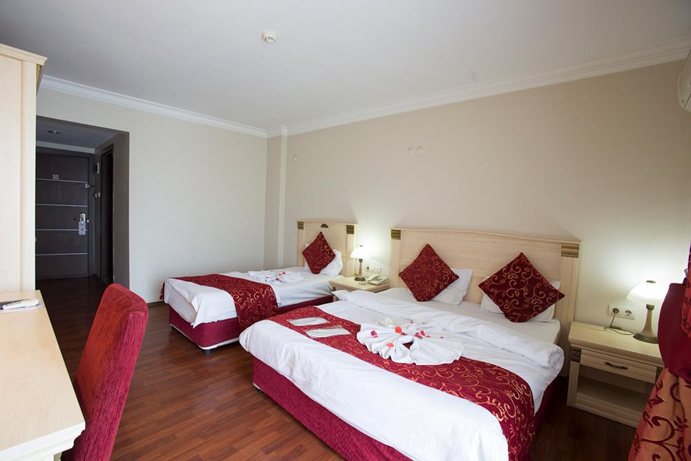 dabaklar soba crvena posteljina